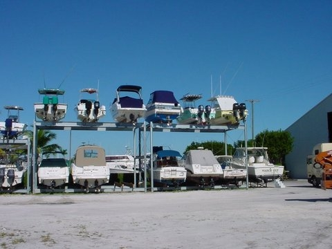 6 Boat Portable Racks